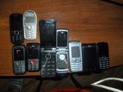 продам телефоны бу 9 шт